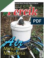 Air Minum Multi Desa. Media Informasi Air Minum dan Penyehatan Lingkungan PERCIK Edisi II Tahun 2010.