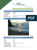 Perfil de Água Balnear - Praia Grande