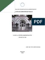 Suport de Curs Logica Actiunii Administrative