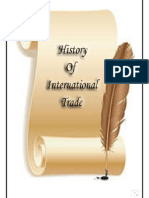 History of International Trade