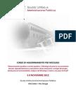 Programma Corso Aggiornamento Micologi 2012