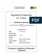 Examen de estaditistica USS