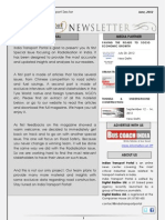 India Transport Portal Newsletter - June, 2012