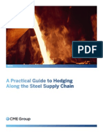 Hedging Price Risk Along the Steel Supply Chain