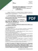 Listado de Libros de Texto e Instrucciones préstamo 2012-2013