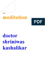 Stress and Meditation Dr Shriniwas Kashalikar (1) (1)