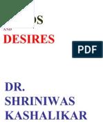 Needs and Desires Dr Shriniwas Kashalikar (1)