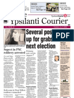 Ypsilanti Courier front page July 5