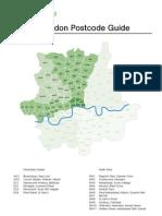Postcode Guide Great London