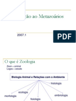 Introducao a Zoologia 2007-1[1]