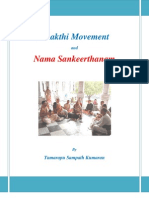 Bhakthi Movement and Namasankeerthanam