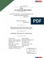 GA Plaintiffs file U.S. Supreme Court Petition for Writ of Certiorari