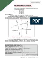 Equations of Quadrilaterals