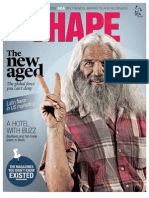 SCA magazine SHAPE 2 / 2012 Focusing on Aging Population