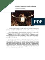 Entrevista Dada pelo Maestro Venezuelano Gustavo Dudamel à Revista Època