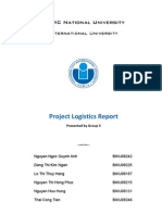 Solution for Logistics Supply Chain Assignment Using Lingo