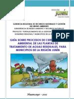 Guia de Procesos de Certificacion Ambiental Ptar