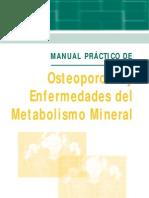 MANUAL PRÁCTICO DE osteoporosis y metabolismo mineral