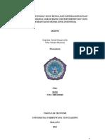 Skripsi Pengaruh Tingkat Suku Bunga Dan Kinerja Keuangan Terhadap Harga Saham Bank Umum Pemerintah Yang Terdaftar Di Bursa Efek Indonesia