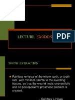 LECTURE Exodontia