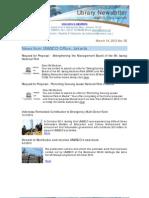 Newsletter 05 2012