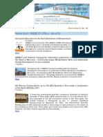 Newsletter 36 2011