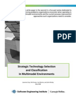 Strategic Classification and Technology Selection in Multimodel Environments