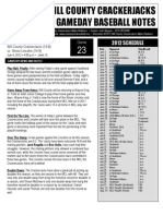 Game Notes Illinois