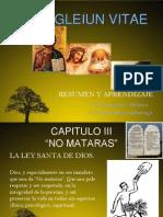 Evangeliun Vitae Presentasion