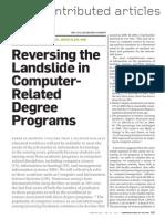 Reversing the Landslide in Computer-related Degree Programs