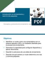 CCNA Conceptos y Protocolos de Enrutamiento Chapter 1