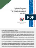 Toolkit de Distintivos, Reconocimientos y Normas en Responsabilidad Social en México