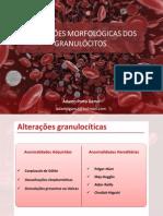 Alterações Morfológicas dos granulócitos