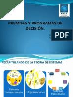 Premisas-Programas de Decisión desde la Teoría de Luhmann