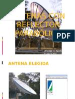 ANTENAS CON REFLECTOR PARABÓLICO