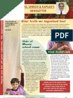 College Drive Dental Fall 2012 Newsletter