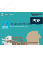CB Consumer Research Process