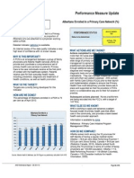 AHS PCN Performance Measure Updates