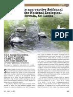 Birds diversity of National Zoo (Sri Lanka)