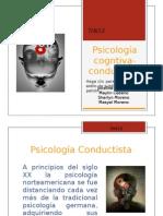 Psicología cogntiva- conductista