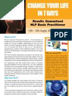NLP Basic Brochure
