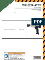 Atlas Copco Impact Wrenches W2320XP-ATEX