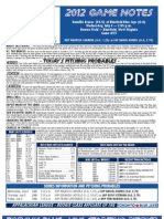Bluefield Blue Jays Game Notes 7-4
