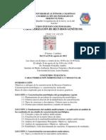 Programa Caracterizacion 2012