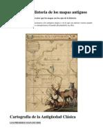 Historia de la Cartografía