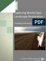 Exploring World Class Landscape Restoration. P.H. Whitbread-Abrutat