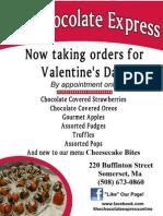 Valentine's Flier