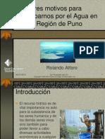 Disponibilidad de agua dulce en la Región Puno