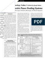 Railway Electric Power Feeding System