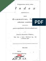 """1815 Rohingya or Rooinga Name in """"Linguarum Totius Orbis Index Alphabeticus, Grammaticae, Lexica, Collectiones Vocabulorum"""""""